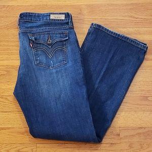 LEVIS Low BOOT Cut 545 Denim Jeans 12 Med